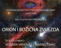 Predavanje: Orion i Božićna zvijezda