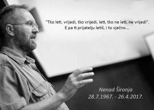 In memoriam Nenad Šironja