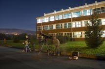 Posjet astronomskoj grupi u Pakracu